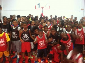 Middle School Elite Maryland Mania Basketball Camp