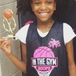 Future Girl NBA Player?: 3rd Grade Kailyn Stone