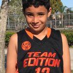 Newcomer Baller: 3rd Grade Christopher Aparicio