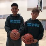 Synergic 11U Kareem Mendez and Sammy Contrerasa